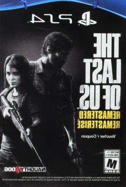 The Last of Us Remastered  download voucher