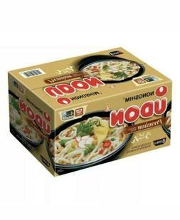 Nongshim Udon Noodle Soup Bowl, 9.73 oz, 6 Bowls