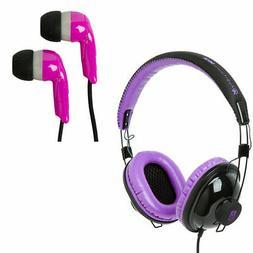 Siege Audio Voucher Over The Ear Headphones Earbud Package P