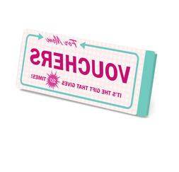 VOUCHERS FOR MOM GIFT GIVES 20 TIMES GIFT VOUCHER BOOK MOTHE
