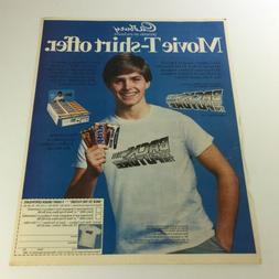 VTG Retro 1985 Cadburry Presents Back To The Future T-Shirt