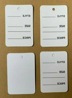 White One Part Price Tag Coupon Clothing Price Tagging gun h